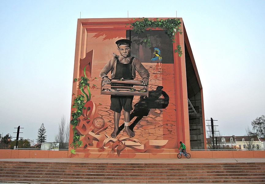 Mural in Setobal