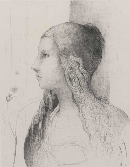 Odilon Redon-Brunnhilde-1894