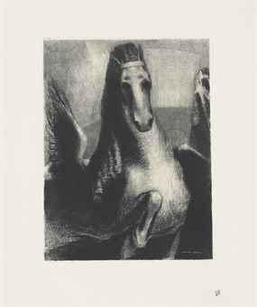 Odilon Redon-L'Aile-1893