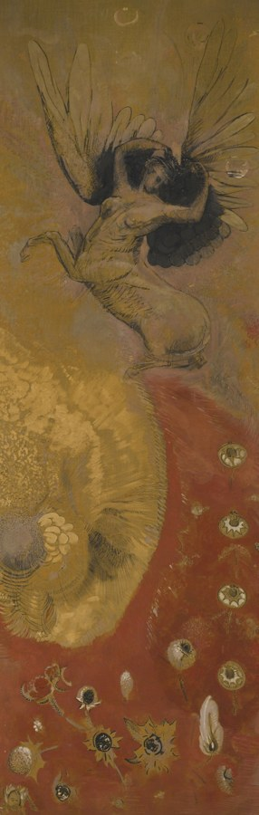 Odilon Redon-Le Monde Des Chimeres-1903