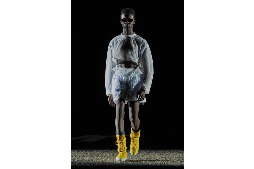 Off-White™ c/o Virgil Abloh, Spring/Summer 2018, Look 11