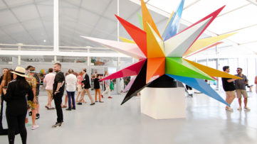 Okuda Installation at SCOPE Miami Beach