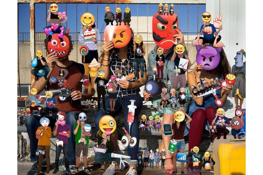 Olaf Breuning - Emojis