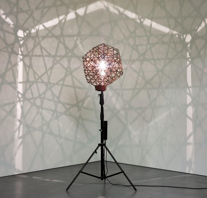 Olafur Eliasson-Fivefold Dodecahedron Lamp-2006