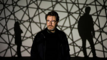Olafur Eliasson in 2015 with an installation at the Louis Vuitton Foundation in Paris Credit Yoan Valat European Pressphoto Agency via nytimes com