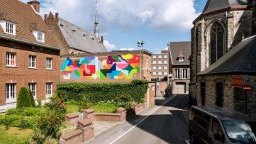 Oli-B, Kaleidoscope Dendermonde, Belgium, 2018