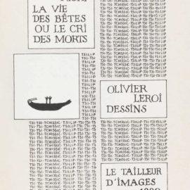 Francois Righi-Olivier Leroi-Olivier Leroi & Francois Righi - La Vie Des Betes Ou Le Cri Des Morts-1991