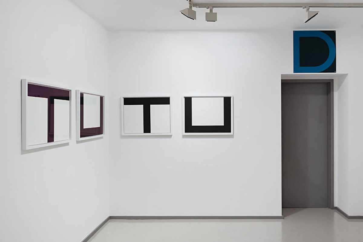 Olivier Mosset Graphic Works Laure Genillard Gallery, London