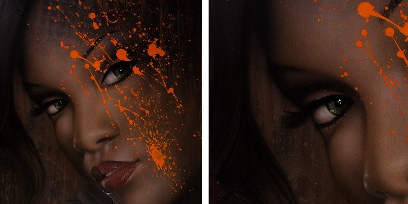 Olivier Roubieu - Rihanna portrait
