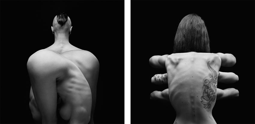 oliviervalsecchi new photo in 2013 - Venus 2 and Venus 3, Klecksography Series 2012
