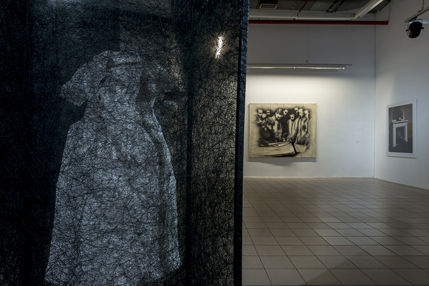 Artworks by Olma Hali, Tunca Subaşı-İsimsiz, Pan Yue-Donakalmış Zaman