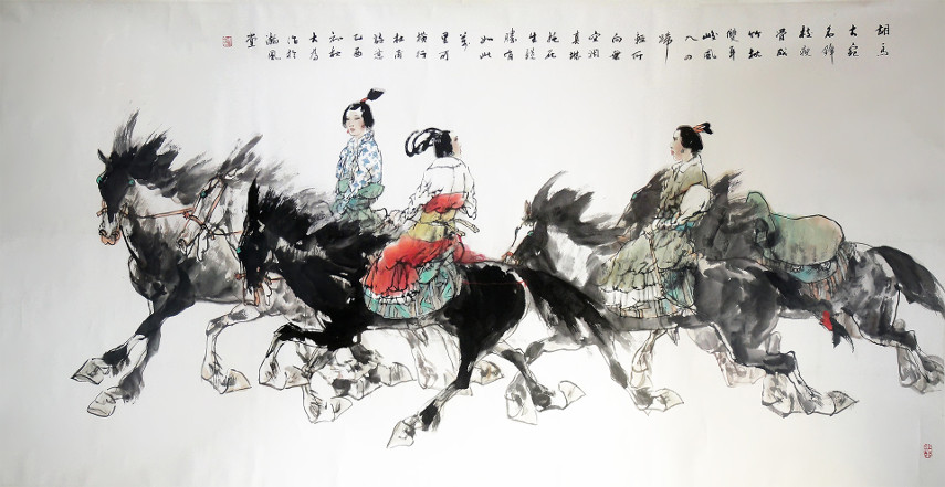 One of the artworks listed on the Takung Platform