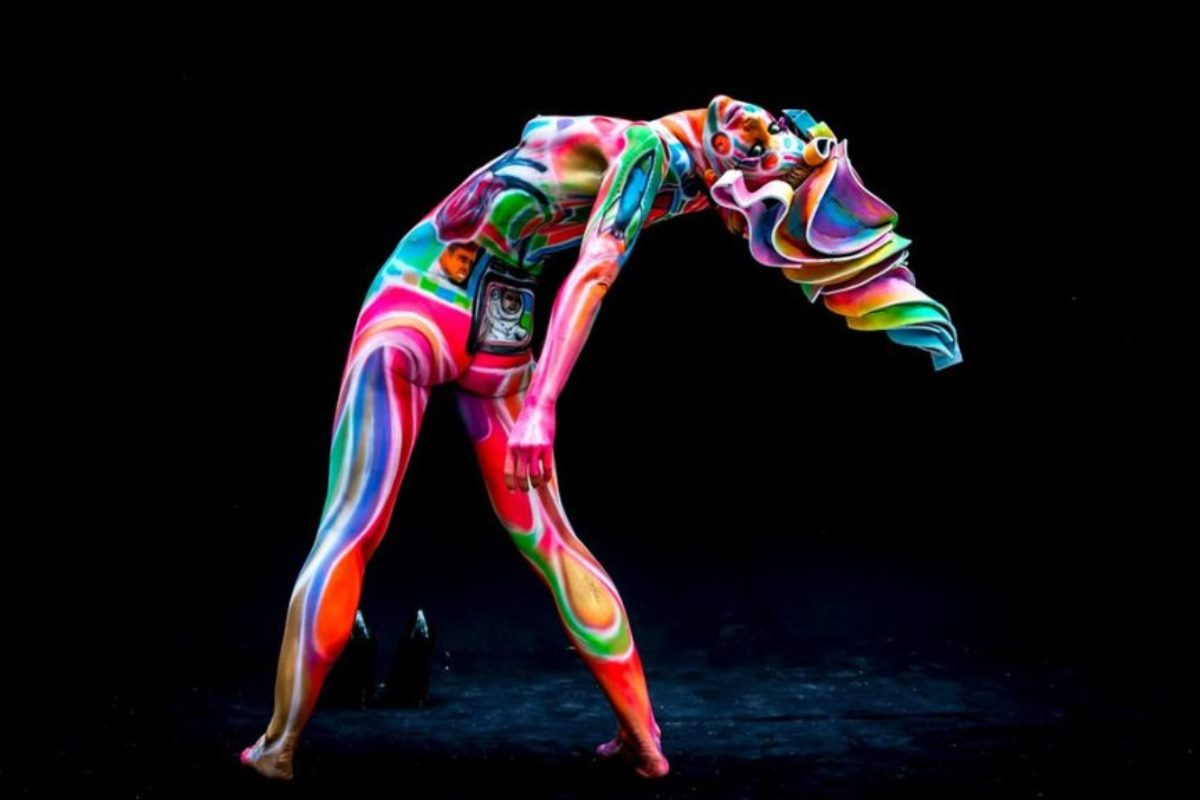 Body painting art body painting art