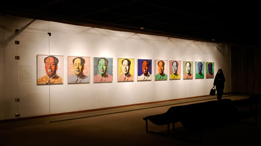 One of the previous exhibitions of Andy Warhol's work at TMoCA - Image via Petapixel com