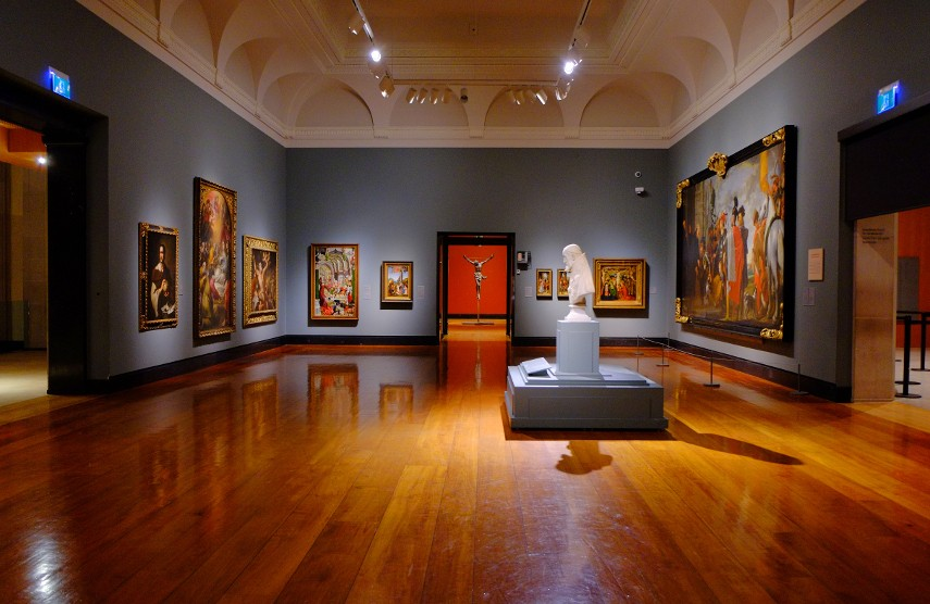 One of the rooms for the Tannenbaum Centre for European Art
