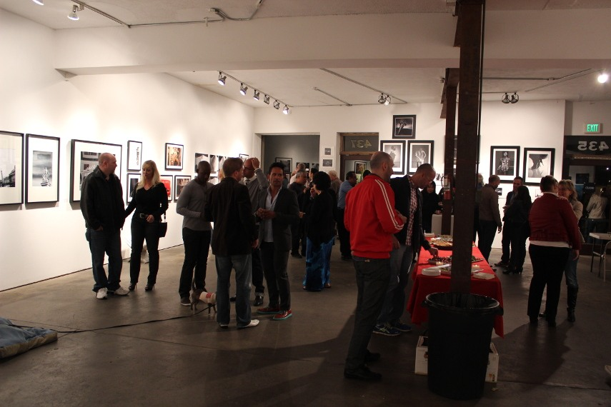 The Opening Reception of Menage Mixed at The Liberty Art Gallery