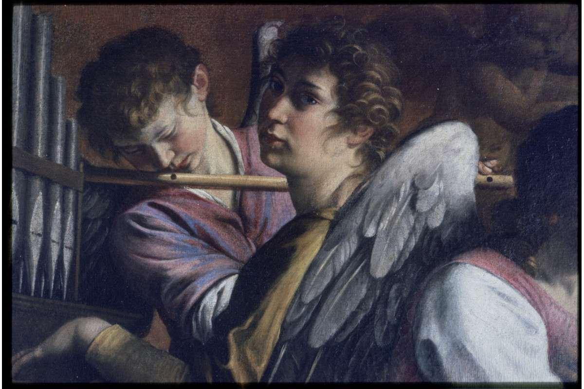 Orazio Gentileschi - Detail of the Circumcision