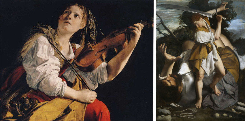 Orazio Gentileschi national paintings collection at getty gallery and museum is open to italian public