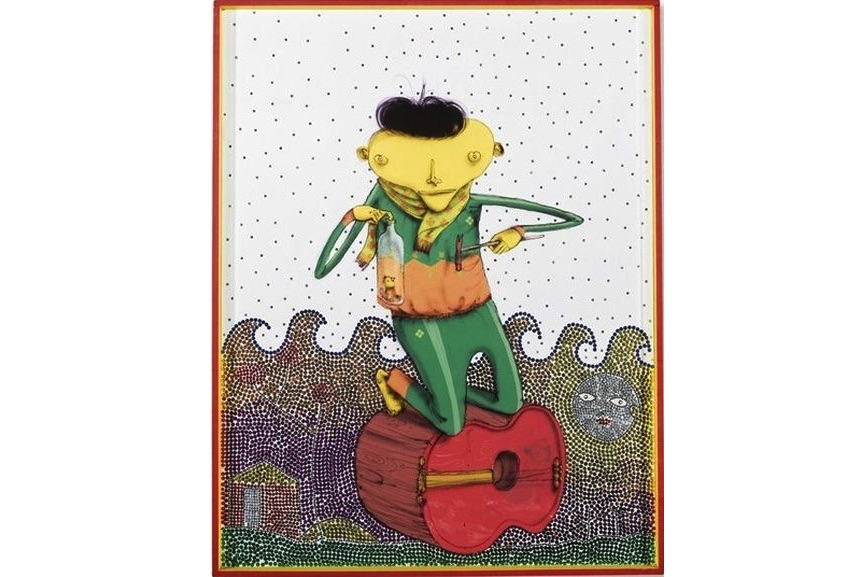 Os Gemeos - Amigo, 2005
