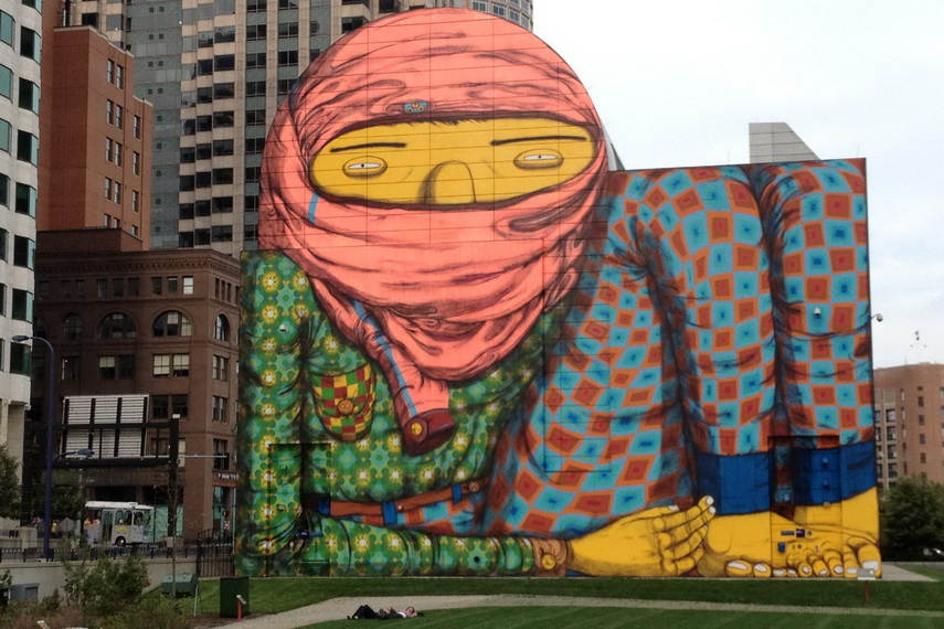 The meaning of phrase osgemeos suggests conjoinment of the two which become one world one mind