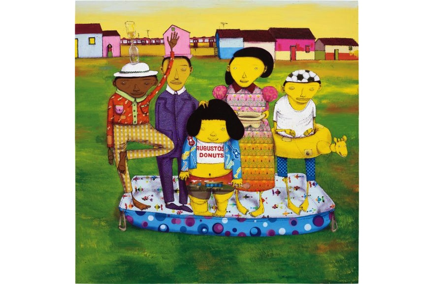 Os Gemeos - It Is Supposed To Be Raining But....., 2008