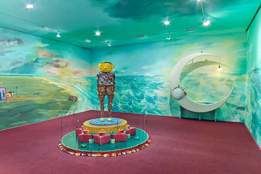 Os Gemeos - Silence of the music, 2016, Installation view - image via desginboom