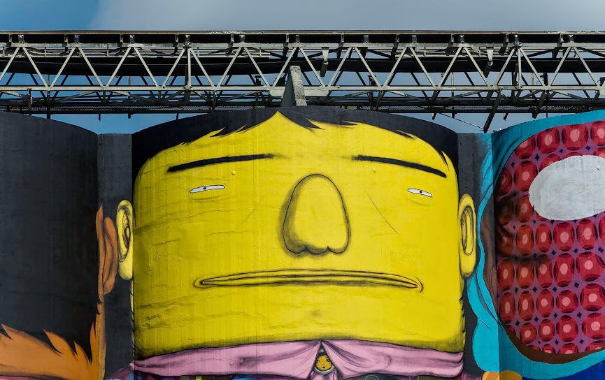 Os Gemeos Paint Giants