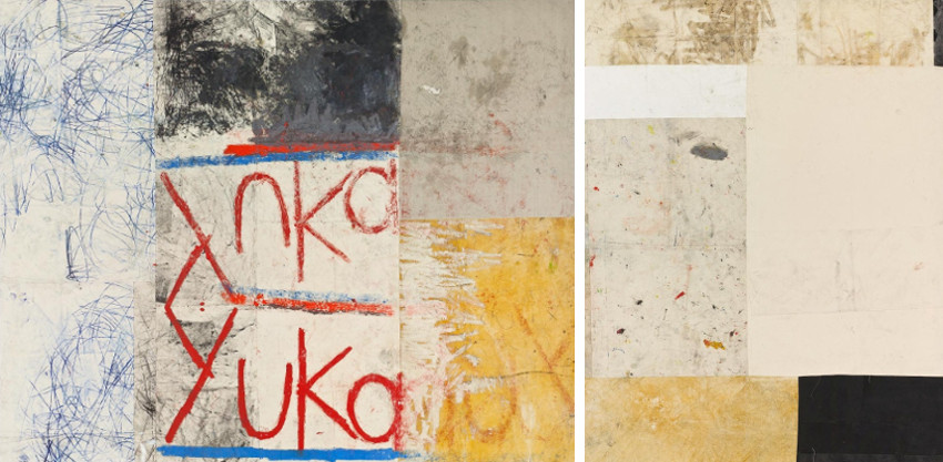 Oscar - Untitled (yuka), (Left) - Work #7, (Right), photo credits Rubell Family Collection