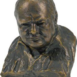 Oscar Nemon-Bust Of Winston Churchill