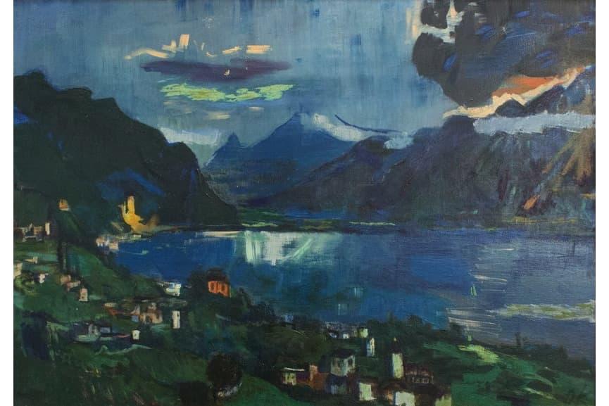 Lake Geneva II, 1923