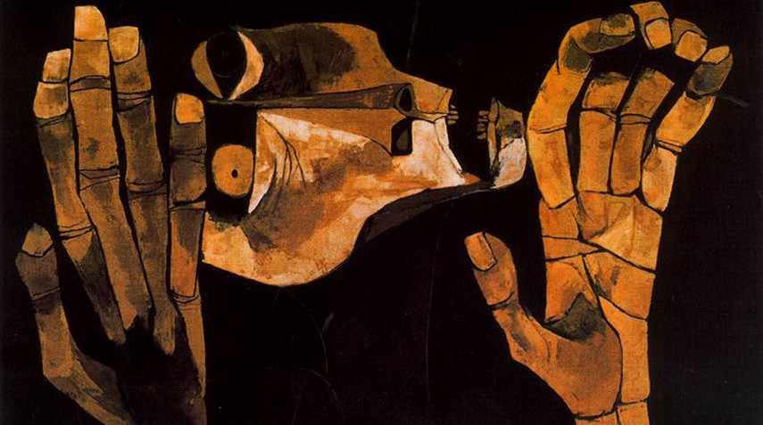 Oswaldo Guayasamin - El Grito no. 2, 1983 latin hombre baltimore latin hombre baltimore