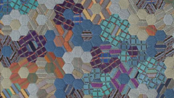 Ottavio Missoni - No 1, Hexagons, ca 1980 (detail)