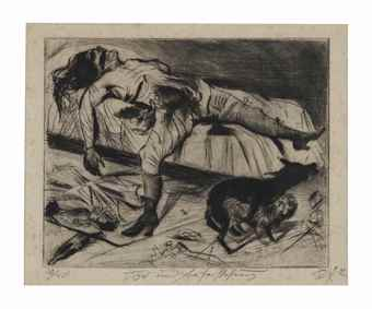 Otto Dix-Lustmord, from Tod und Auferstehung-1922