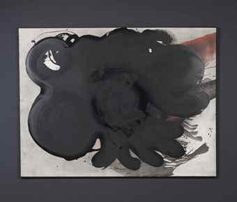 Otto Piene-Black Blossom-1980