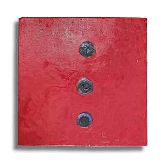 Otto Piene-Carved (3), WVZ #273-2010