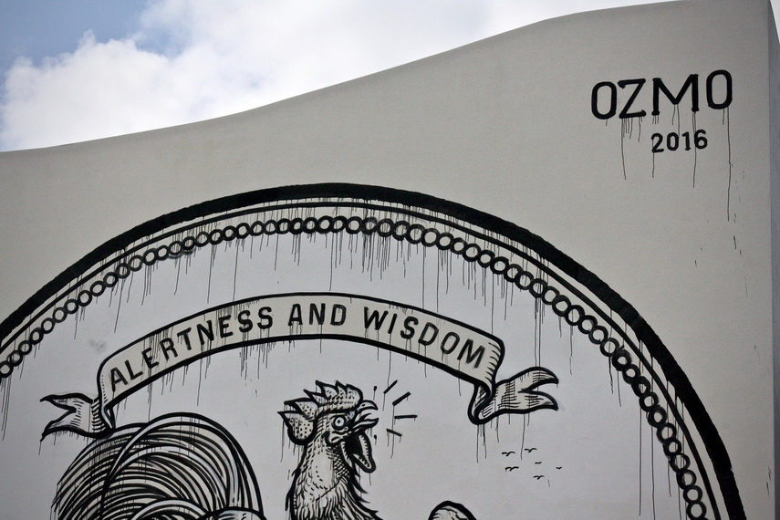 Ozmo - Grab this cock, 2016 - the RAW project, Wynwood, Miami, detail 2 - photos by Arnold R MelgarFoundation 2 F.A.M.E.