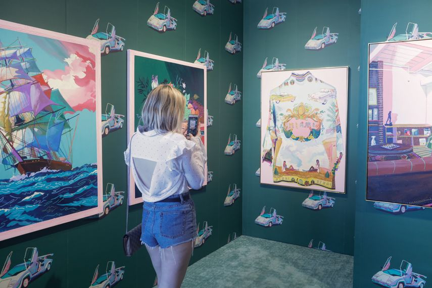 PULSE Miami Beach, VIP Private Preview Brunch during Miami Art Week