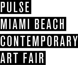 Pulse Art Fair logo in black