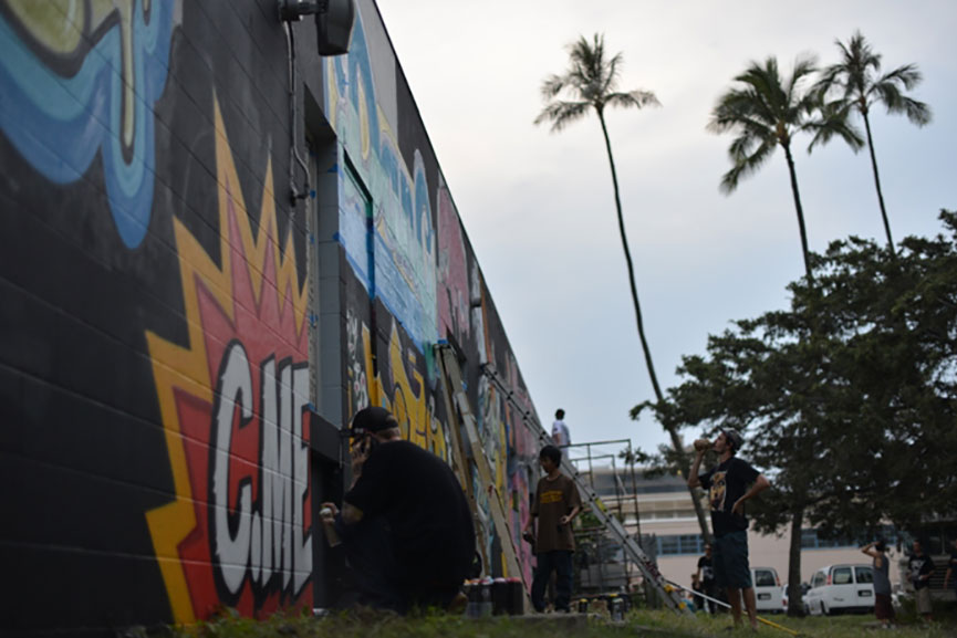 Street art festival Honolulu