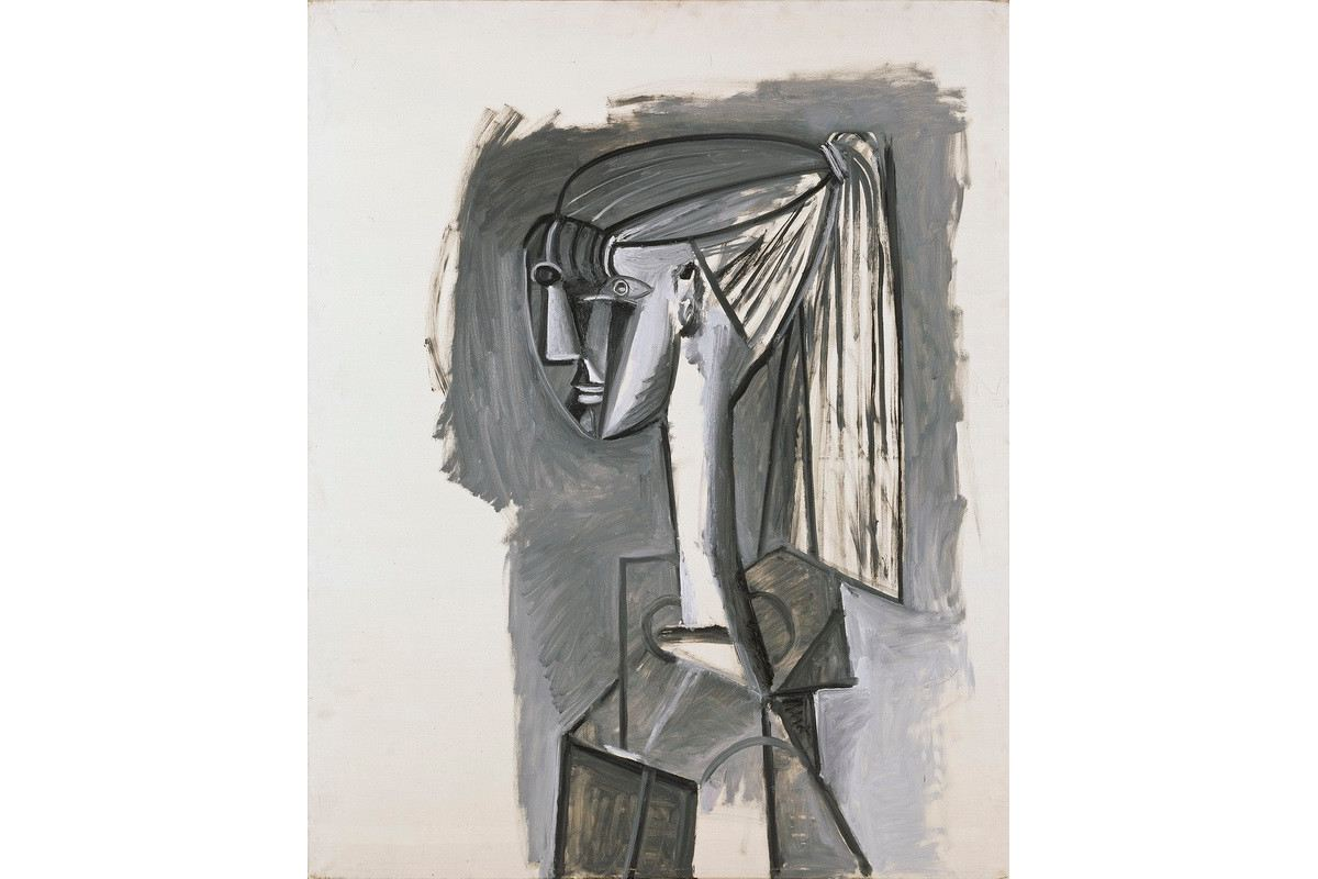 Pablo Picasso – Portrait de femme a la queue de cheval