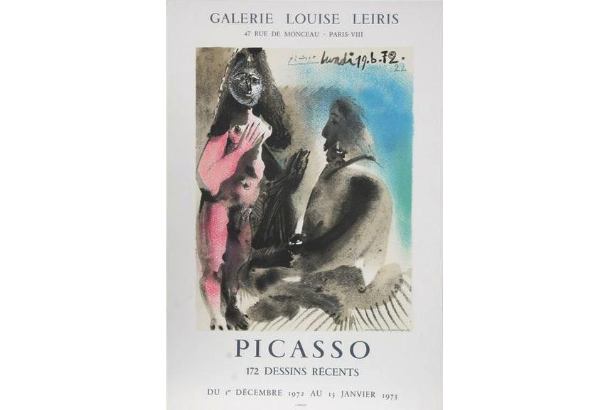 Pablo Picasso - 172 Dessins Recents, 1972