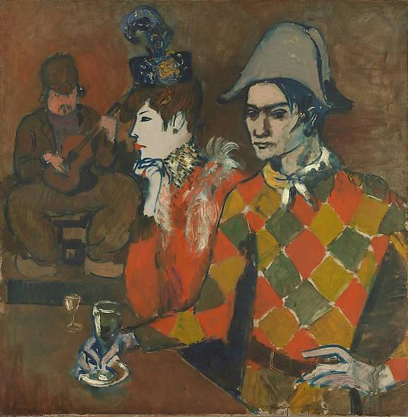 Pablo Picasso-Au Lapin Agile-1905