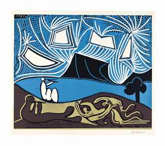Pablo Picasso-Bacchanale-1959