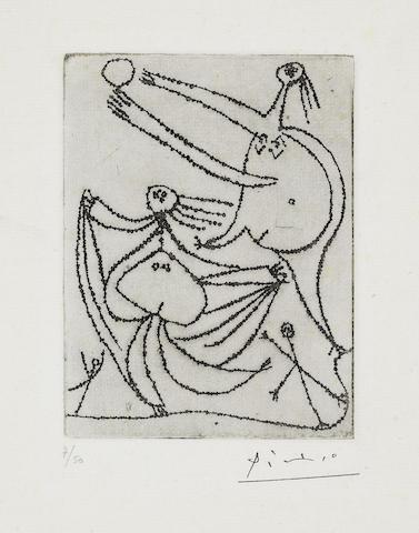 Pablo Picasso-Baigneuses Sur La Plage. III-1932