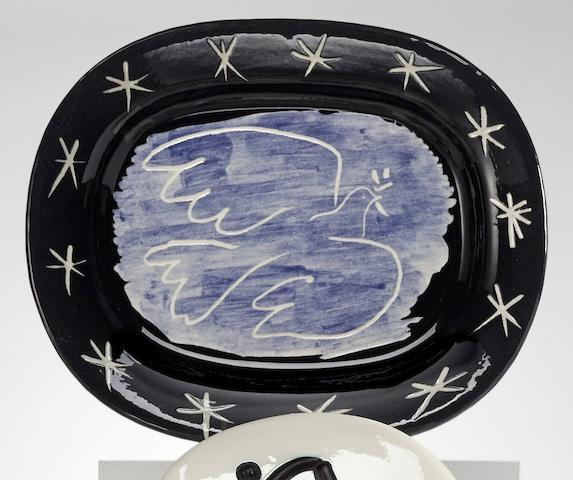 Pablo Picasso-Bright dove-1953