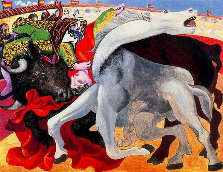picasso's life view on apple was like a special bull's process way