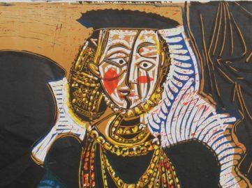 Pablo Picasso - Buste de Femme d'Apres Cranach (detail), ca. 1970