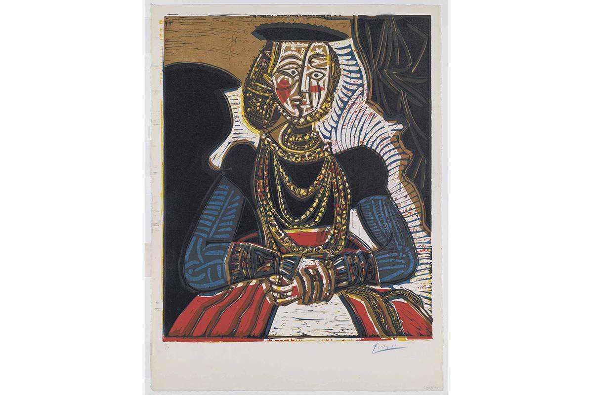 Pablo Picasso - Buste de femme