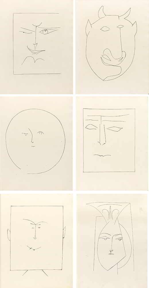 Pablo Picasso-Carmen-1949