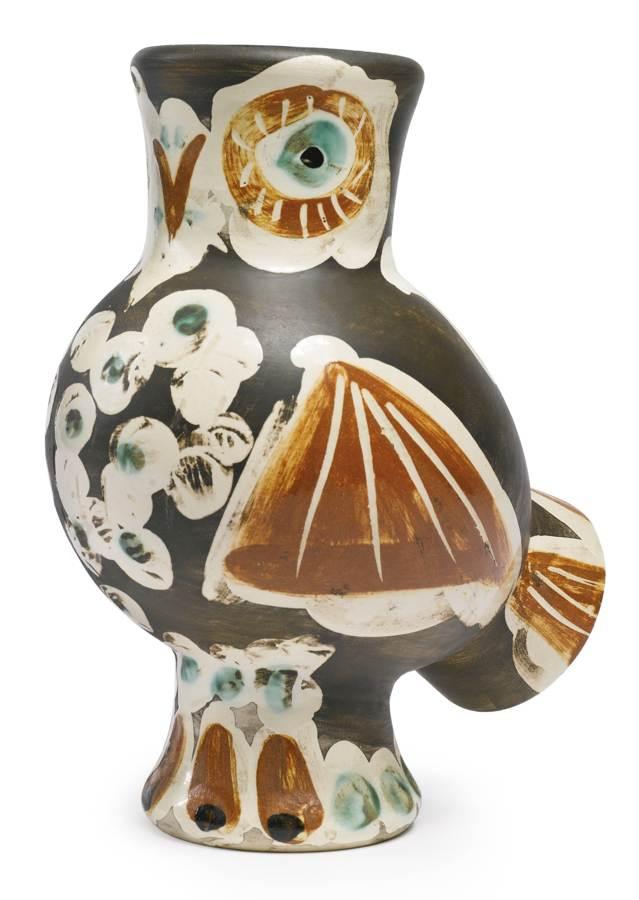 Pablo Picasso-Chouette (A. R. 543)-1968